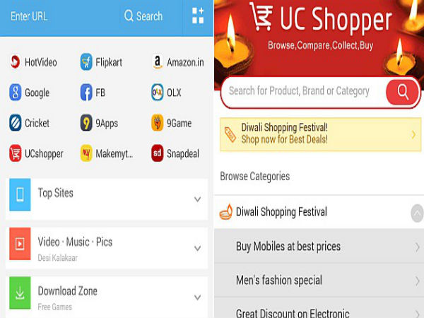 UCWeb Partners With eCommerce Giants To Offer Diwali Shopping Festival