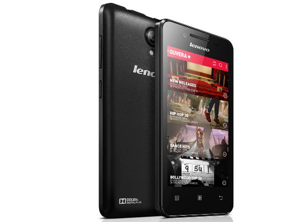 Lenovo RocStar A319 Music Smartphone Launched for Rs 6,499 in India