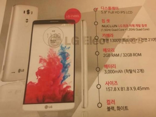 LG F490L Liger With Home-Brewed Octa-Core Chipset Leaks Online