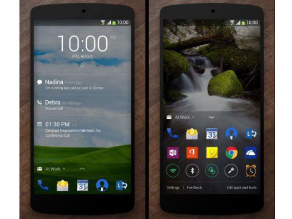 Microsoft Launches Next Lock Screen and Journey & Notes Apps