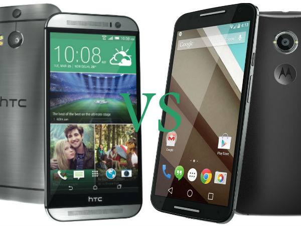 HTC One M8 Eye Vs Motorola Moto X(2014) Full Specifications Comparison