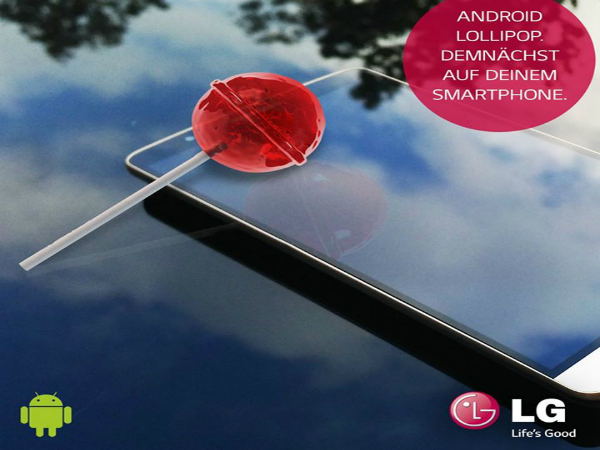 LG G3 To Get Android 5.0 Lollipop Update in Q4 2014