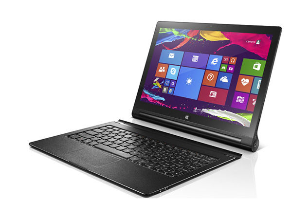 Lenovo Introduces Yoga Tablet 2 with 13-inch QHD Display, Windows 8.1