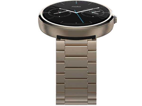 Moto 360 In Champagne Gold Color Surfaces Online