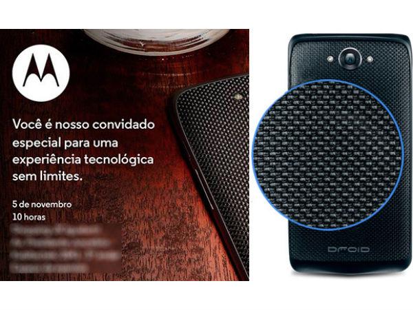 Motorola's Global Version of Droid Turbo To Launch in Brazil on Nov 5