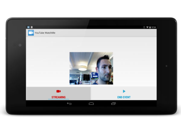 YouTube Unveils WatchMe For Android To Bring Live Broadcasting