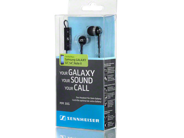Sennheiser MM30G: In-ear Headset For Samsung Galaxy Devices Launched