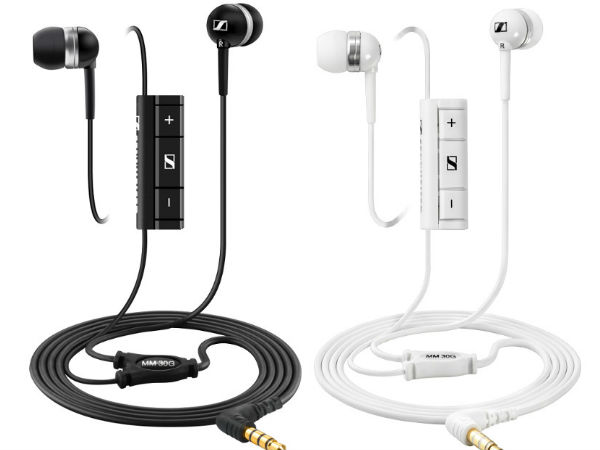 Sennheiser Launches MM 30G In-ear Headset in India For Rs 3,990