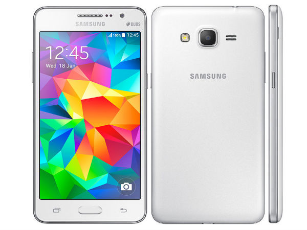 Samsung Launches Galaxy Grand Prime in India for Rs 15,499
