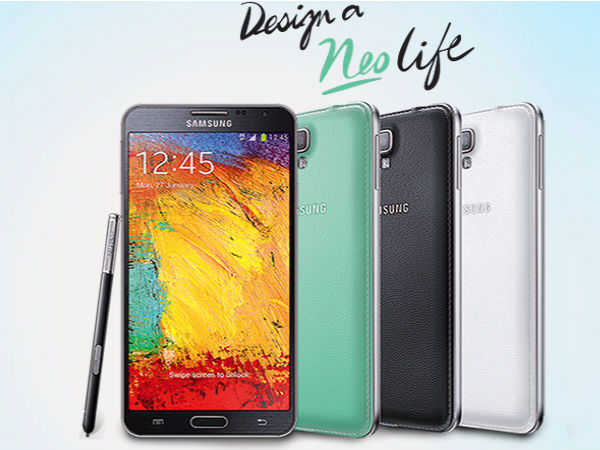 Samsung Galaxy Note 3 Neo:
