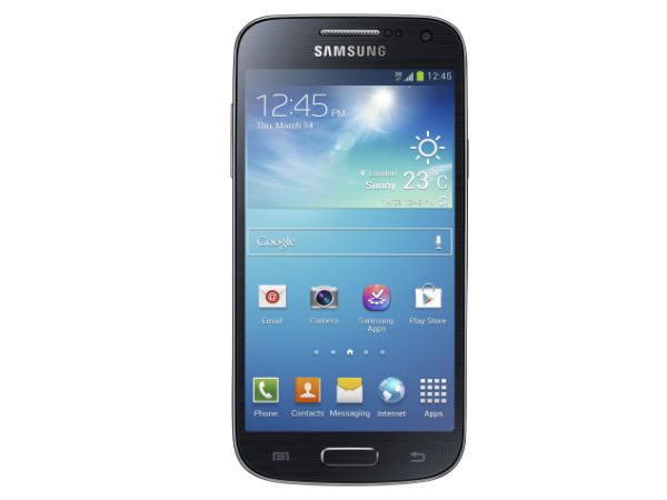 Samsung Galaxy S4 Mini I9192 GSM Mobile Phone (Dual SIM) (Black):