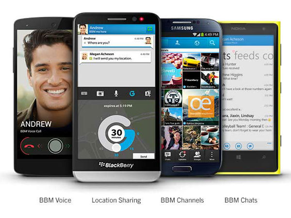 BBM for BB 10, Android and iOS Gets Updated With New Features