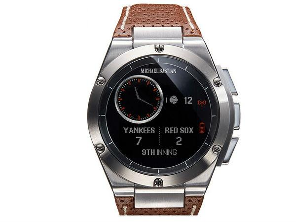 HP Launches MB Chronowing Smartwatch Designed By Michael Bastian