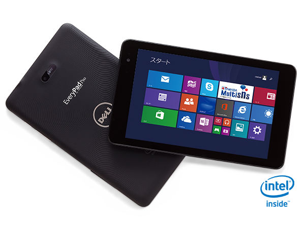 Dell EveryPad Pro Tablet Launched with Windows 8.1 OS