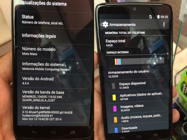 Motorola Moto Maxx Leaks Online Ahead Of Official Announcement