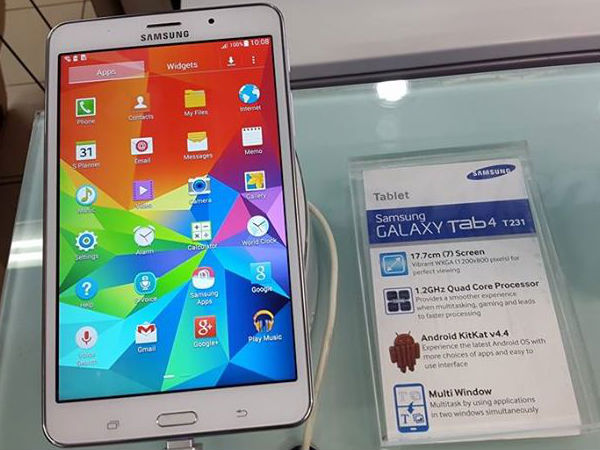 Samsung Galaxy S5 and Tab 4 T231 Prices Slashed in India: Report