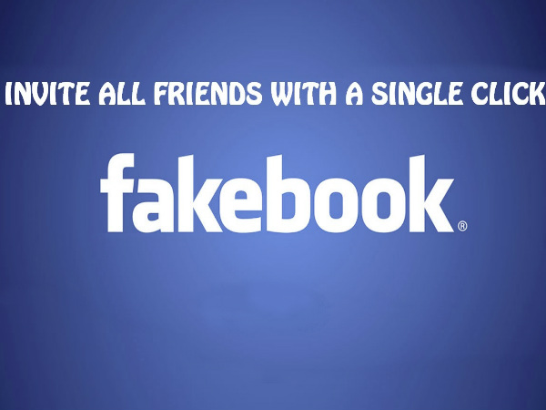 Invite All Facebook Friends in Just One Click
