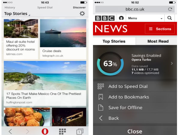 Opera Mini 9 Launched For iOS With Video Booster and More Features