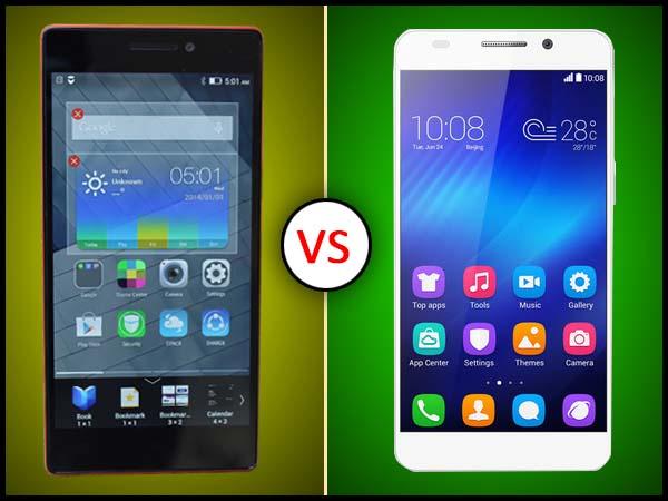 Lenovo Vibe X2 Vs Huawei Honor 6:  Detailed Specs Comparison