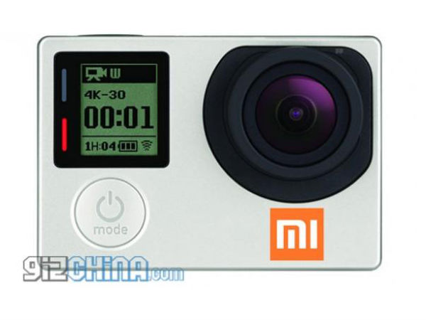 Xiaomi's GoPro-Like Action Camera Coming Soon: Report