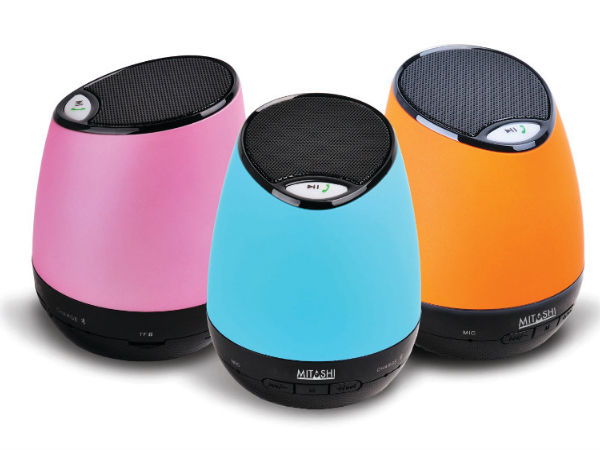 Mitashi Launches ML 2200 portable Bluetooth Speaker At Rs 1,890