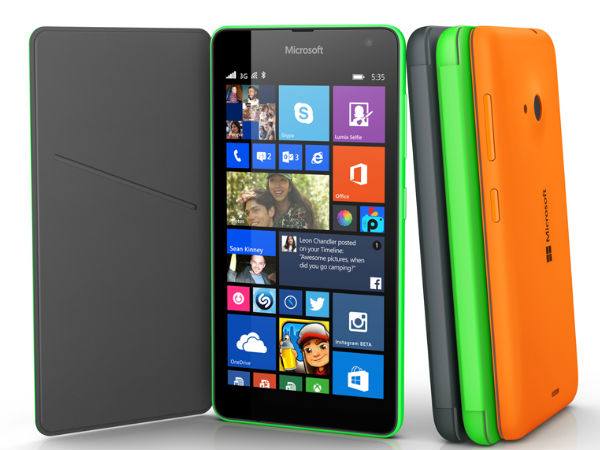 Microsoft Lumia 535 Launched With 5 Inch Display: New Era Begins