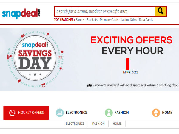 Snapdeal, Amazon Flash Sales Are Live With Offers On Several Products