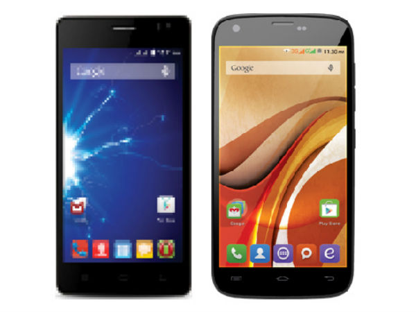Spice Stellar 517, Stellar 470 With KitKat Get Listed On Official Site