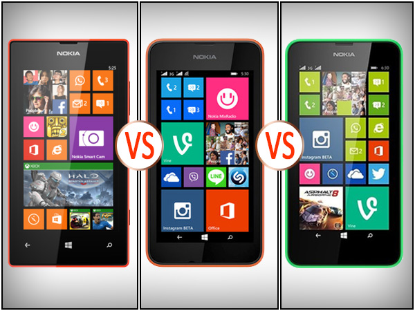 Lumia 530 Vs Lumia 535 vs Lumia 630: Understanding the Difference