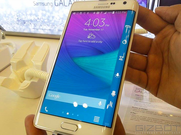 Samsung Galaxy Note Edge First Look: Ahead of the Curve and Classy