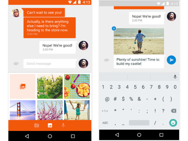 Google Launches Separate Messenger App for Android Smartphones