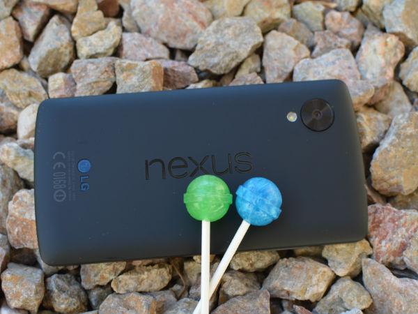 Google Nexus Smartphones Now Receiving Android 5.0 Lollipop Update