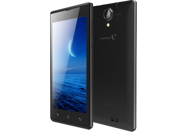 Videocon Infinium Z50 Quad With 5-inch qHD Display Launched At Rs 7349