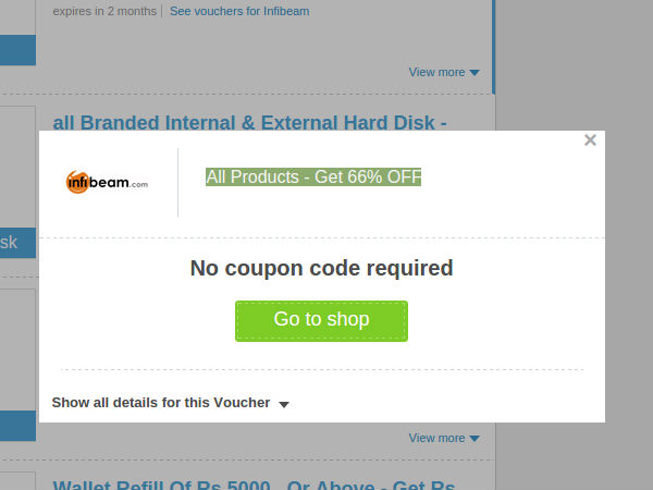 All Products - Get 66% OFF from infibeam