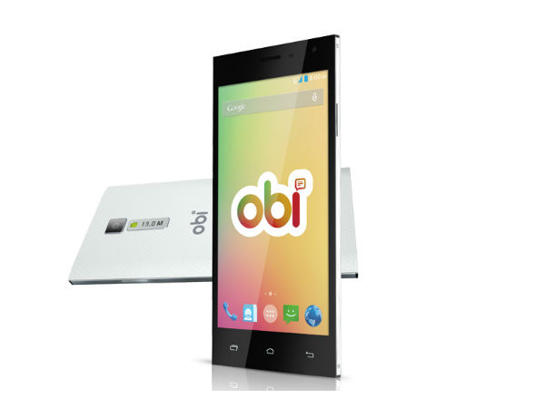 Obi Hornbill S551 With 5.5 Inch HD Display, Quad-Core CPU Launched