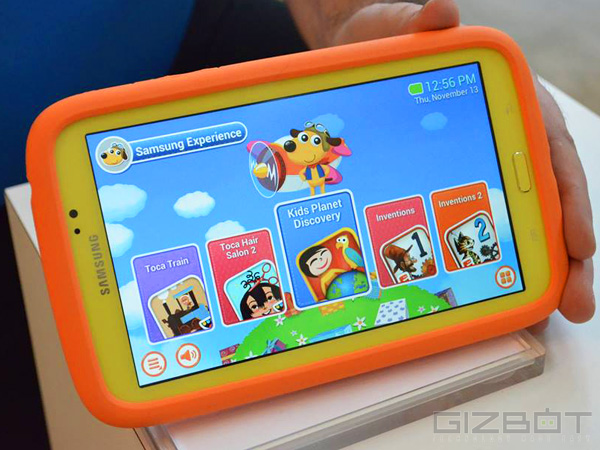 Samsung Galaxy Tab 3 Kids First Look