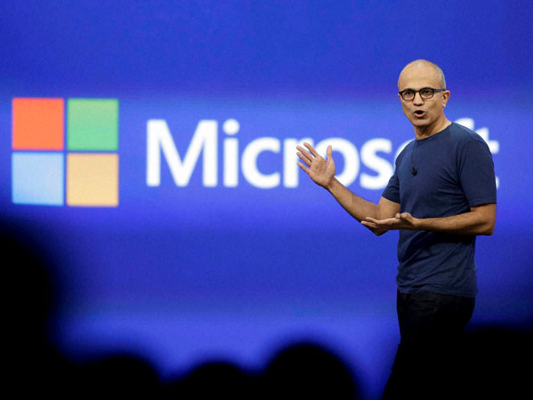 One year on, Nadella shifting focus at Microsoft
