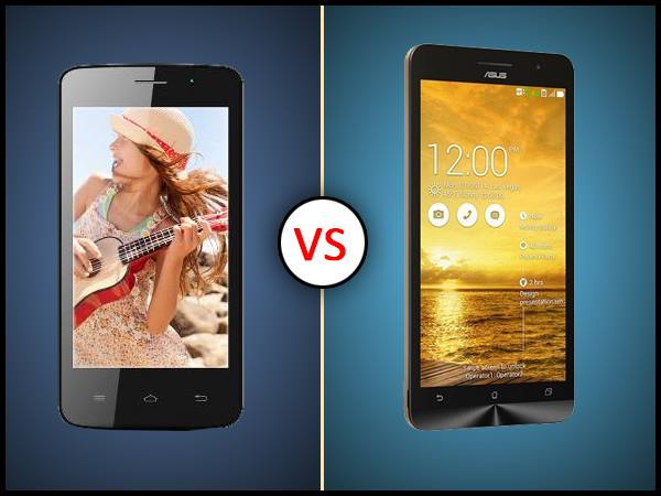 Spice Mi-430 Vs Asus Zenfone 4: What's the Difference?