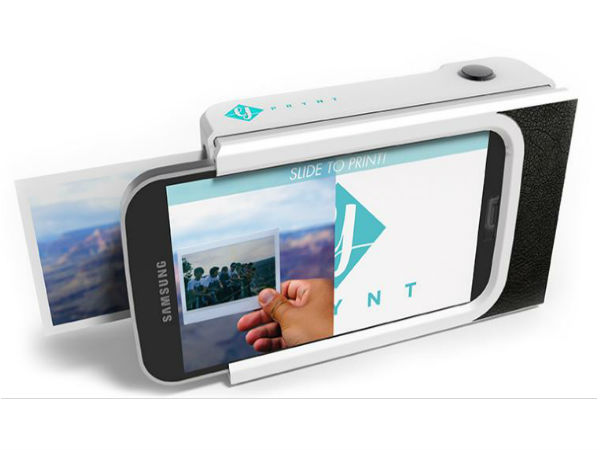 This New Smartphone Case Can Print Selfies in Less Than a Minute