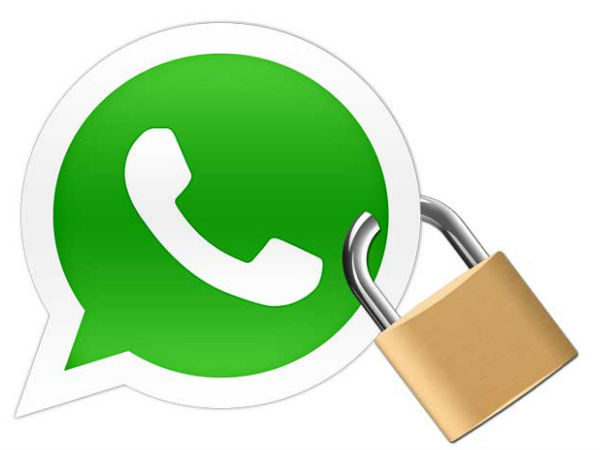 Locking WhatsApp