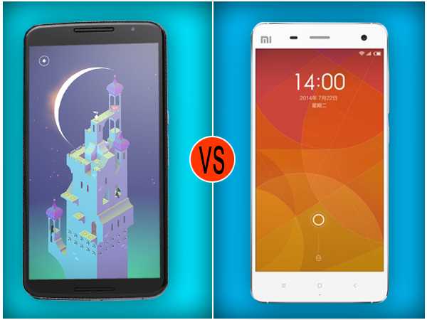 Google Nexus 6 Vs Xiaomi Mi 4: What's the Difference?