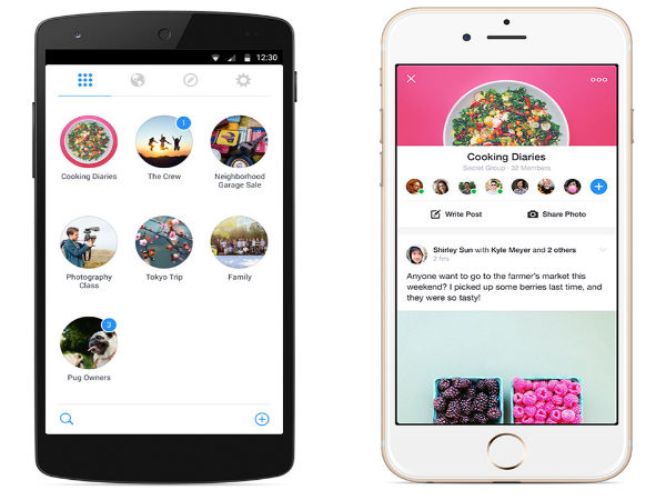 Facebook Launches Groups App For Android And iOS