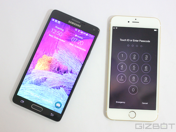 Apple iPhone 6 Plus Vs Samsung Galaxy Note 4: Operating System