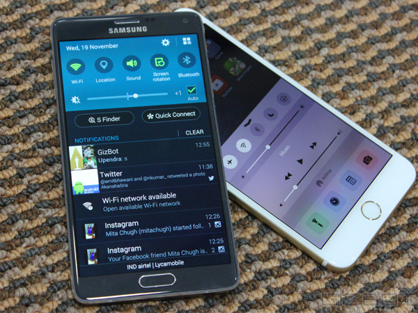 Apple iPhone 6 Plus Vs Samsung Galaxy Note 4: Processor and Performance (Contd.)