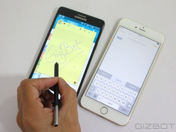 Apple iPhone 6 Plus Vs Samsung Galaxy Note 4: Unique Features