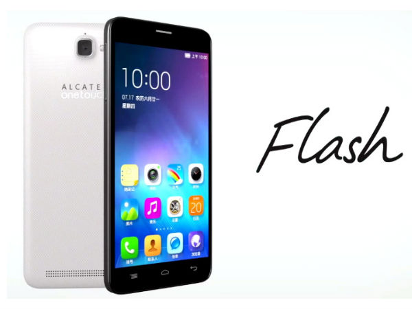 Alcatel One Touch Flash With 5.5-inch Display To Launch in India Soon