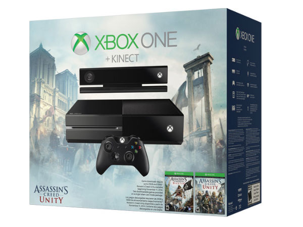 Xbox One Gets New Assassin's Creed Unity Bundle: Now Available