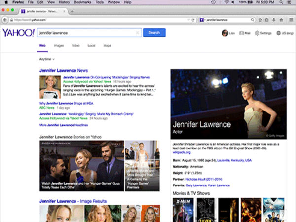 Mozilla Makes Yahoo Default Search Option in Firefox
