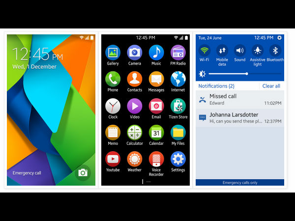 Samsung's Tizen OS 2.3 Screenshots Spotted Online With New Design