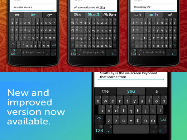 SwiftKey For Android Gets More Indian Languages Support and More